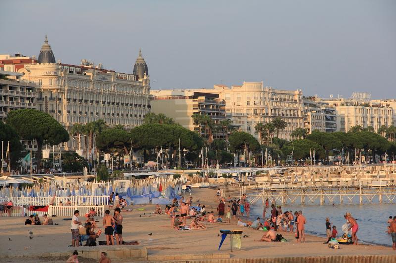 Платные пляжи на Круазетт