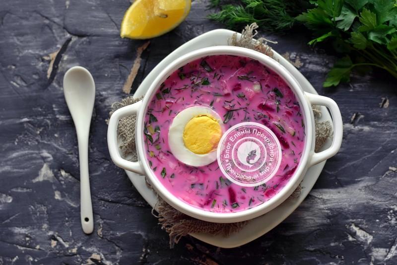 Холодник на кефире со свеклой и редисом рецепт в домашних условиях