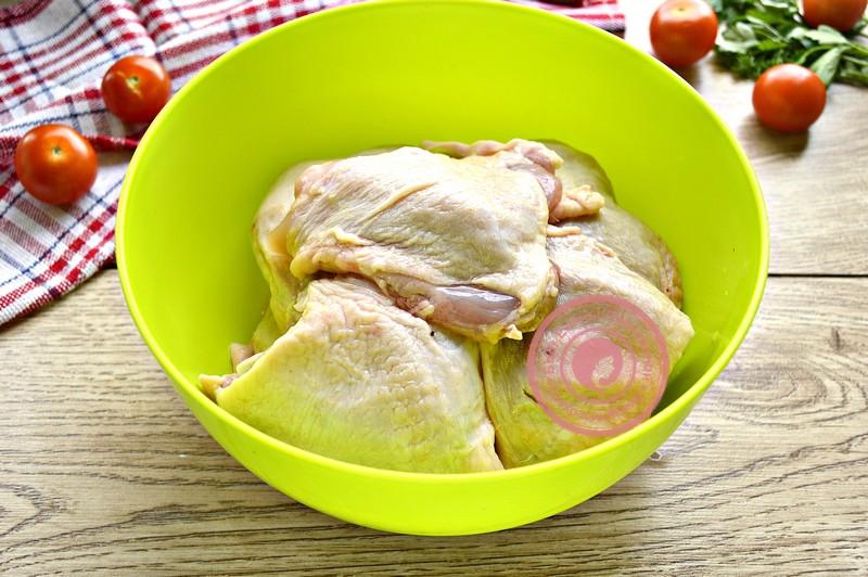куриный шашлык на решетке рецепт