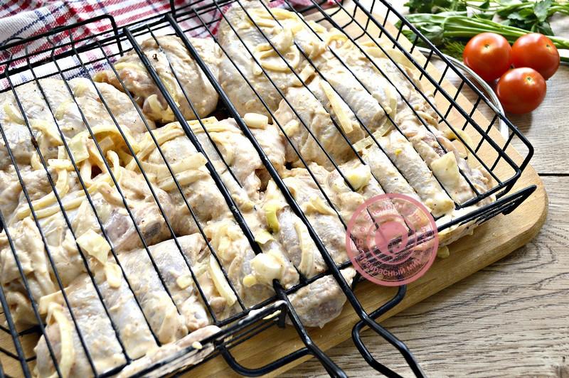 куриный шашлык на решетке рецепт в домашних условиях
