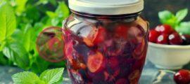 Как закрыть черешню в собственном соку на зиму рецепт в домашних условиях