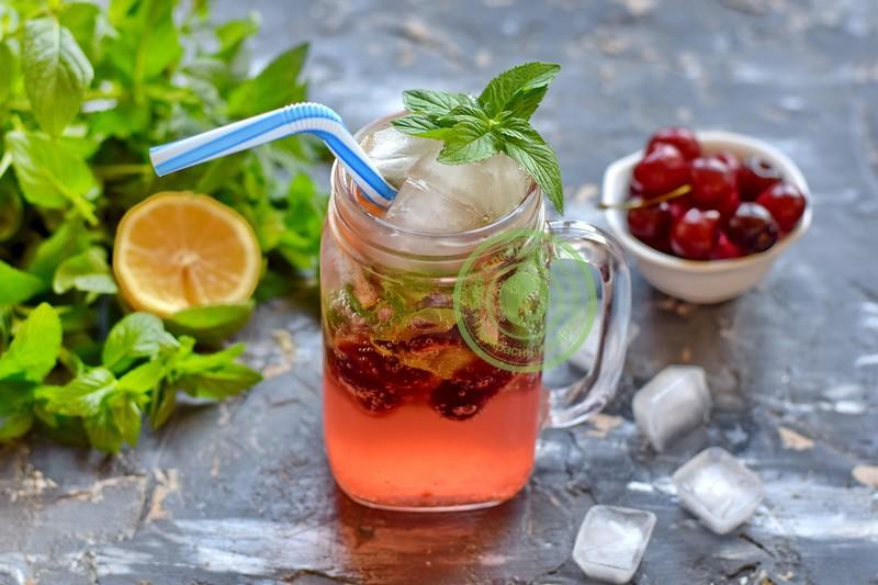 лимонад из черешни с мятой рецепт в домашних условиях