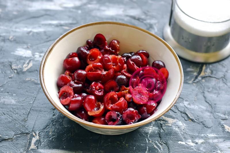 черешня в собственном соку на зиму рецепт с фото