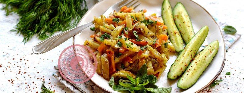 Молодой картофель с кабачками в духовке: рецепт в домашних условиях