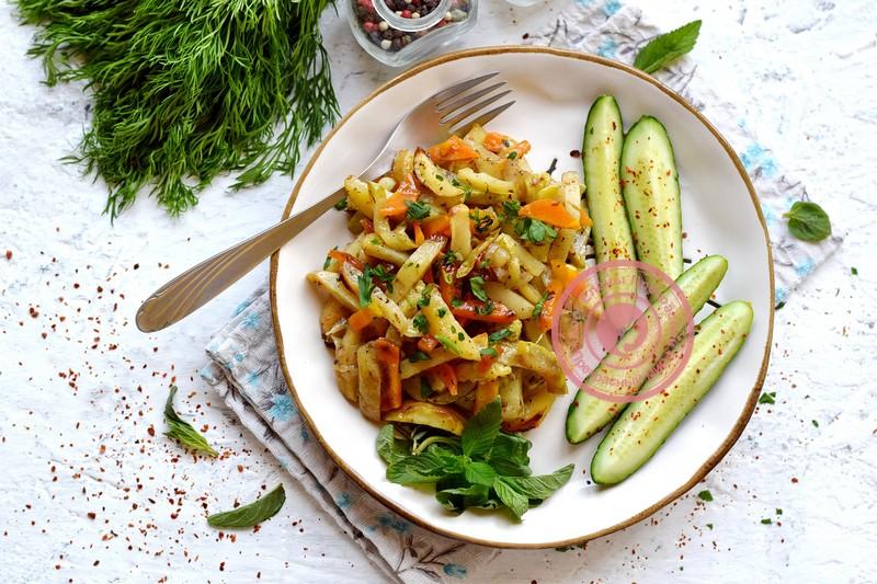 картофель с кабачками в духовке рецепт в домашних условиях