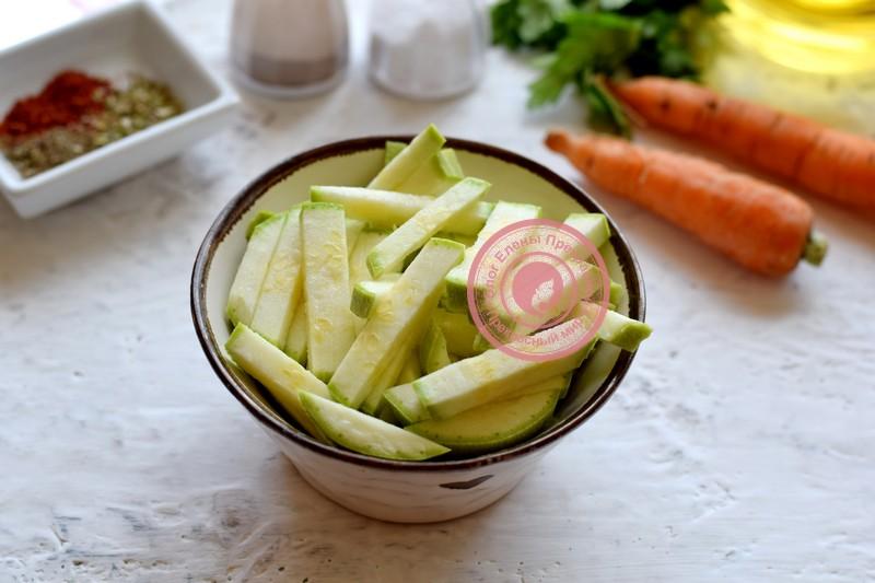картофель с кабачками в духовке рецепт