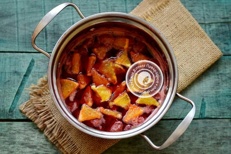 клубничное варенье с апельсином рецепт в домашних условиях