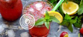 клубничный лимонад с мятой рецепт в домашних условиях