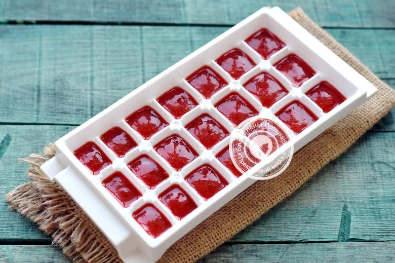 клубничное пюре на зиму рецепт