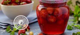 Клубника с сахаром в сиропе на зиму рецепт в домашних условиях
