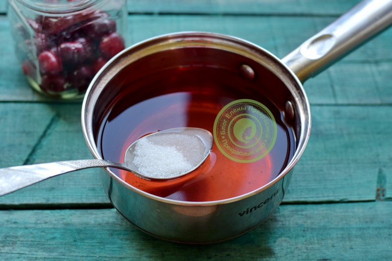 компот из черешни на зиму рецепт в домашних условиях