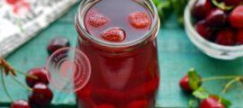 Домашний компот из клубники и черешни рецепт в домашних условиях