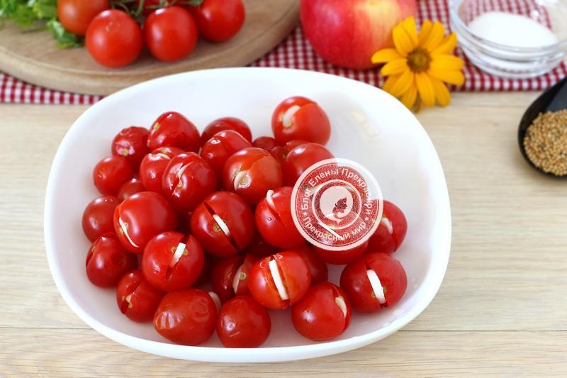 квашеные помидоры с яблоками рецепт с фото