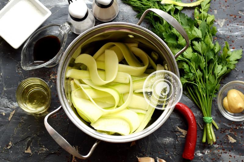 маринованные кабачки быстрого приготовления рецепт