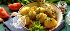 молодой картофель с курицей рецепт в домашних условиях