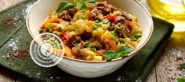 овощное рагу с говядиной и кабачками рецепт в домашних условиях