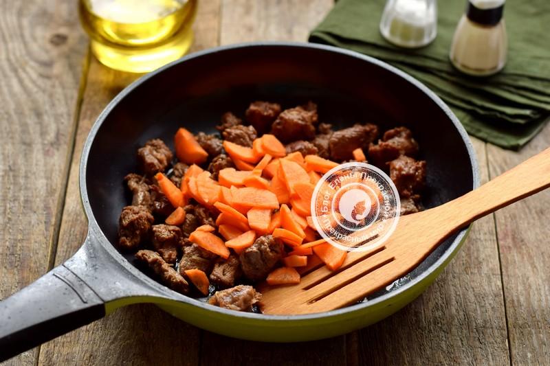 овощное рагу с говядиной и кабачками рецепт с фото