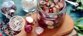 маринованный редис на зиму рецепт в домашних условиях