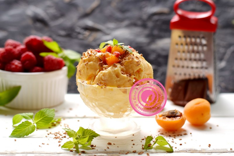 абрикосовое мороженое рецепт в домашних условиях