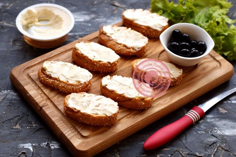 бутерброды с ветчиной рецепт с фото
