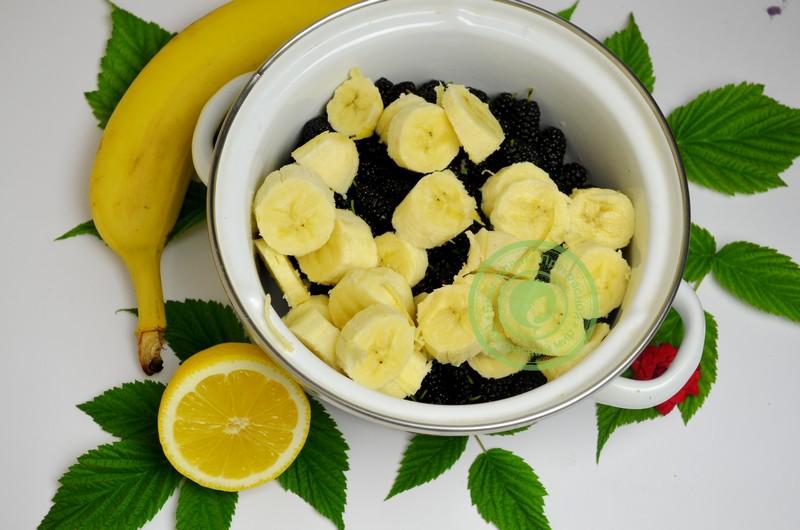 джем из шелковицы и бананов рецепт