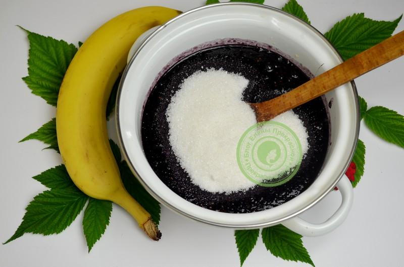 джем из шелковицы и бананов рецепт в домашних условиях
