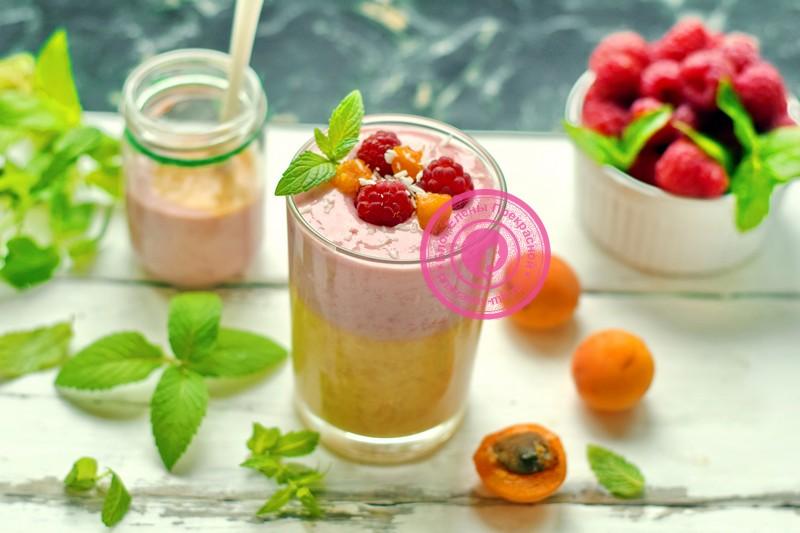 смузи из абрикосов и малины рецепт в домашних условиях