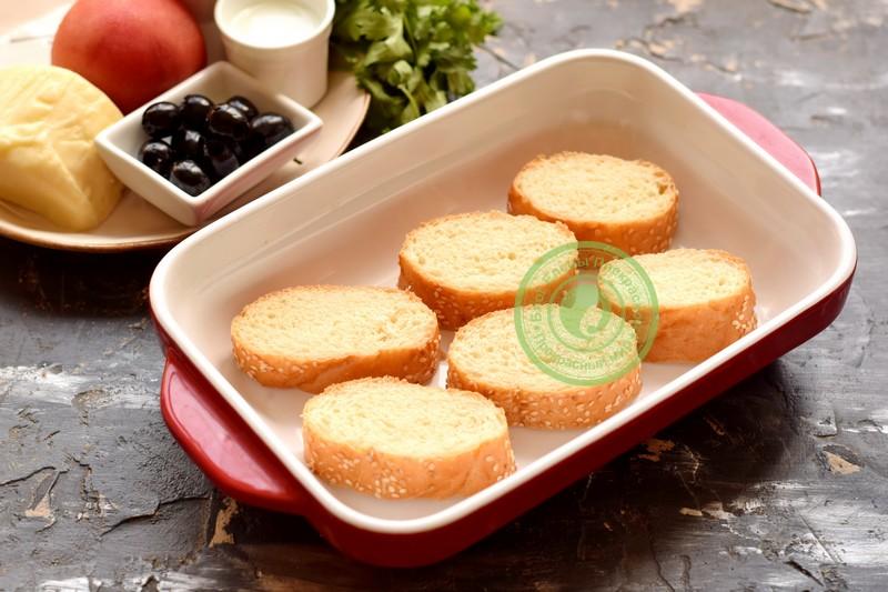 горячие бутерброды с сулугуни