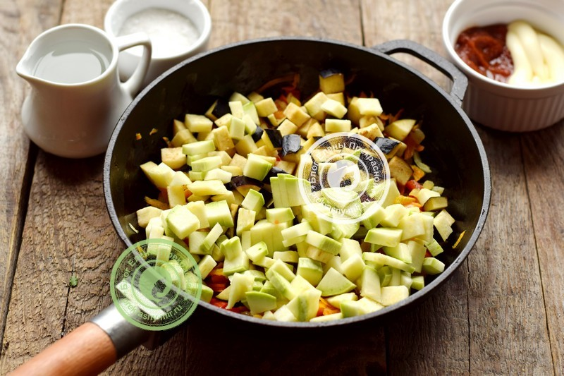 кабачково-баклажанная икра на зиму рецепт с фото