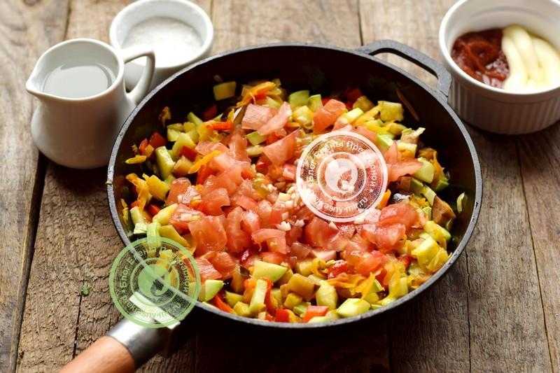 кабачково-баклажанная икра на зиму рецепт пошагово