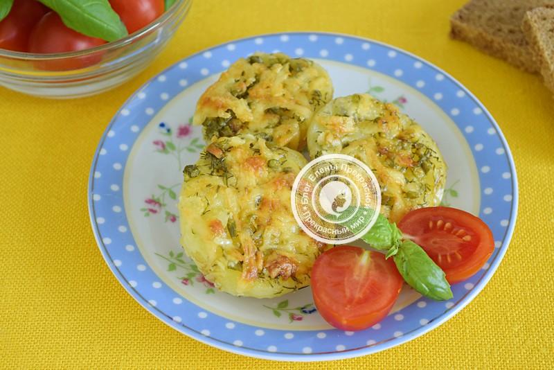 Запеченный молодой картофель с сыром и чесноком: рецепт в домашних условиях