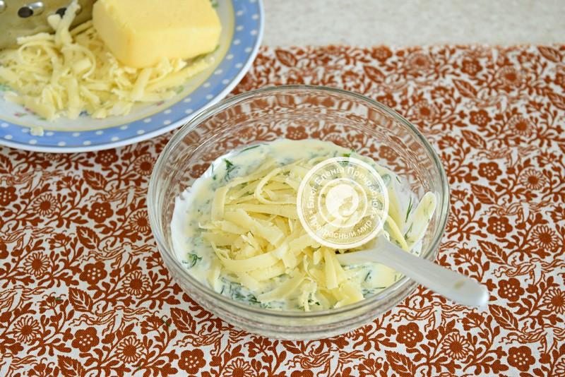 Запеченный картофель с сыром и чесноком рецепт с фото