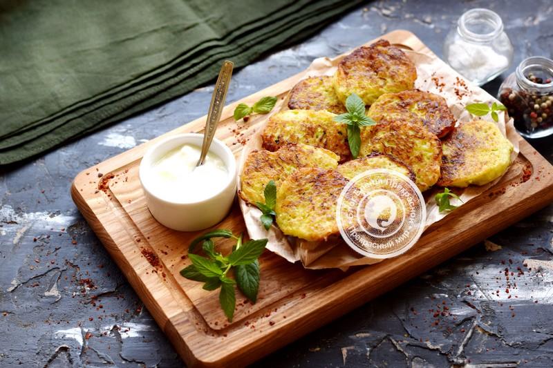 картофельные драники с кабачком рецепт в домашних условиях