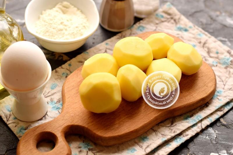 картофельные драники с кабачком рецепт