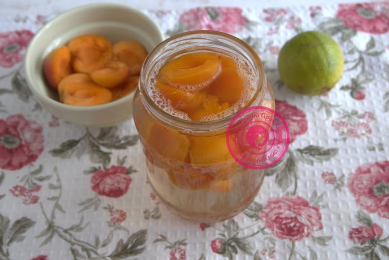 компот из абрикосов на зиму рецепт в домашних условиях