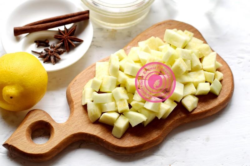 компот из кабачков с лимоном