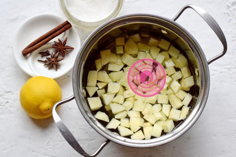 компот из кабачков с лимоном рецепт
