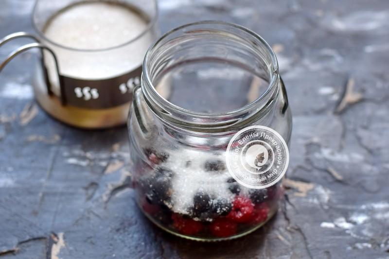 компот из черной смородины и малины рецепт приготовления