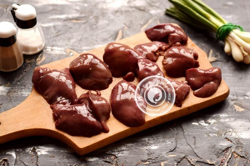куриная печень с кабачками рецепт приготовления