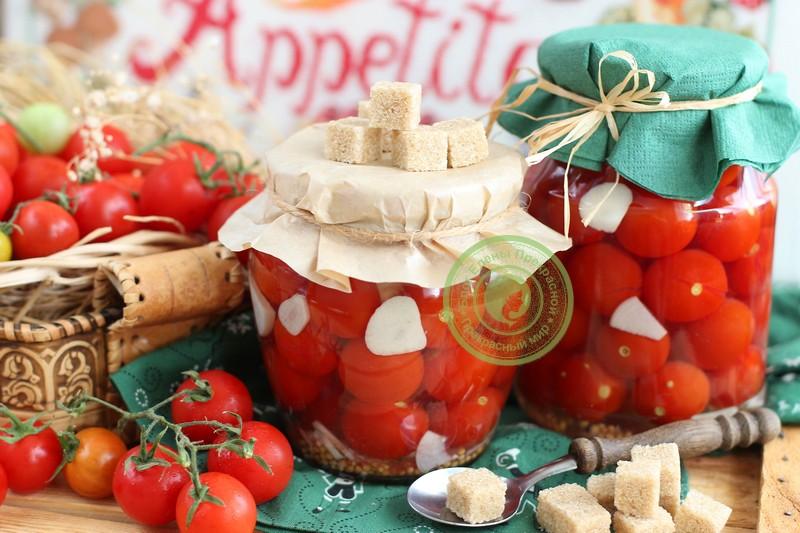 маринованные помидоры черри сахарные на зиму рецепт в домашних условиях