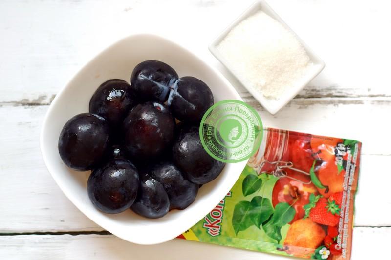 Сливовый конфитюр на зиму: пошаговый фото рецепт в домашних условиях