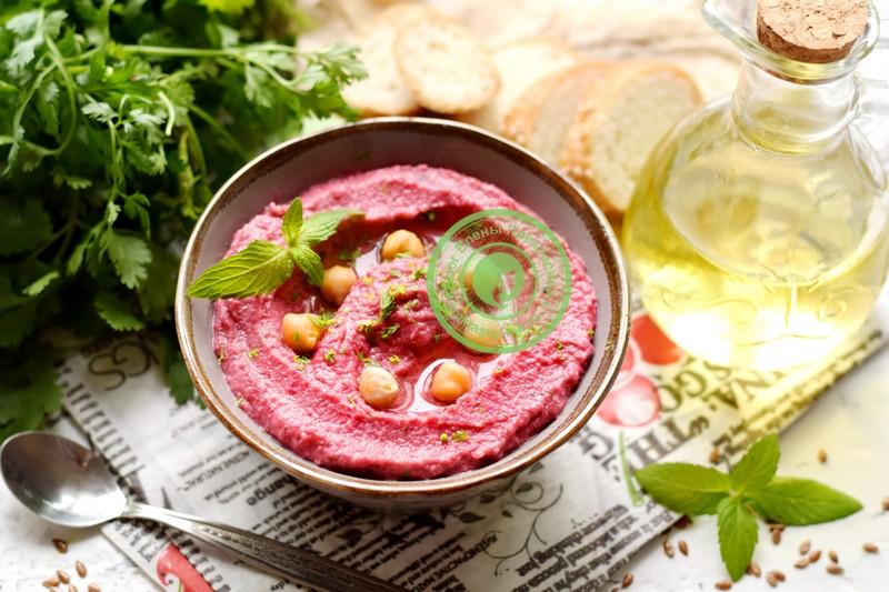 свекольный хумус рецепт в домашних условиях