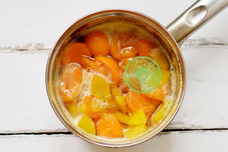 пюре из абрикосов и персиков на зиму рецепт в домашних условиях