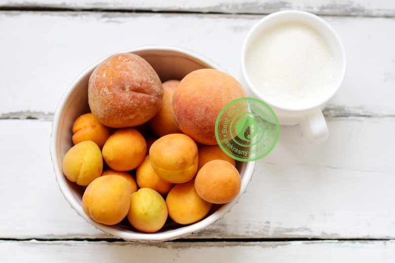 пюре из абрикосов и персиков на зиму