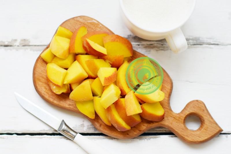 пюре из абрикосов и персиков на зиму рецепт с фото
