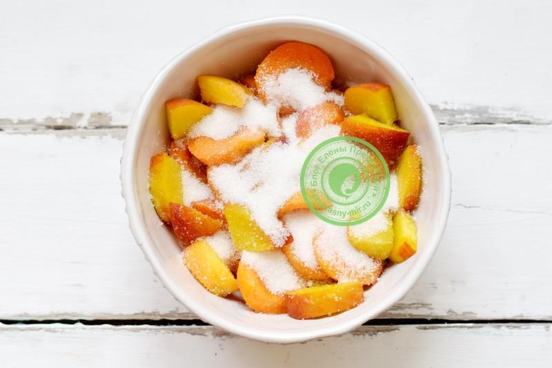 пюре из абрикосов и персиков на зиму рецепт пошагово