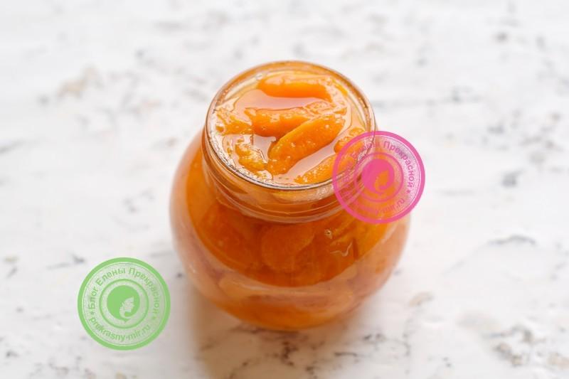 абрикосовое варенье на зиму рецепт пошагово
