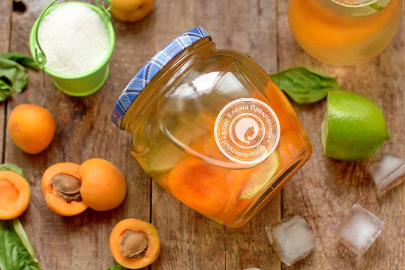 абрикосовый компот с лимоном рецепт в домашних условиях