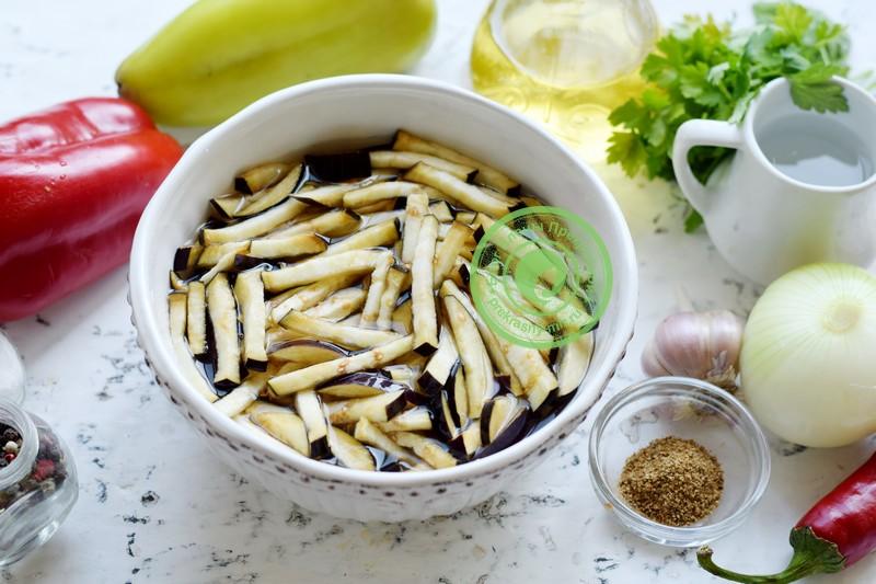 баклажаны по-корейски на зиму рецепт с фото