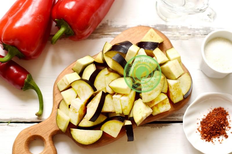баклажаны в заливке на зиму рецепт